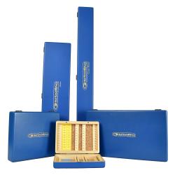 DELUXE WOODEN HOOK BOXES 50x13 - piórnik