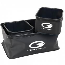 Garbolino EVA Groundbait Square Bowls - zestaw pojemników