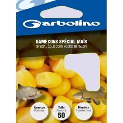 Garbolino GOLD CORN nr8 / 0,20mm - przypony