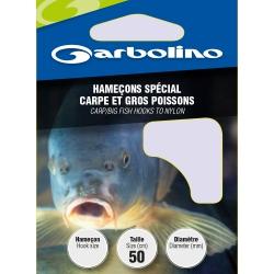 Garbolino SPECIAL CARP/BIG FISH nr10 / 0,18mm - przypony