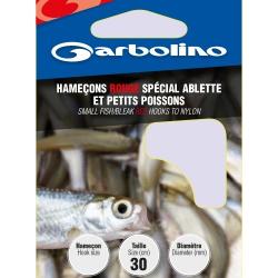 Garbolino SPECIAL SMALL FISH/BLEAK RED nr18 / 0,10mm - przypony